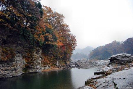 Arakawa River ravine